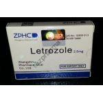 Letrozole (Летрозол) ZPHC 50 таблеток (1таб 2.5 мг)