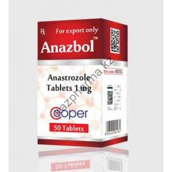 Анстрозол Cooper 50 таблеток (1таб 1 мг) Индия - Ташкент